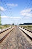 Dubbelspårig järnväg