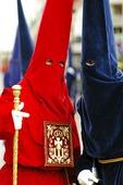 The Holy Week i Malaga, Spanien