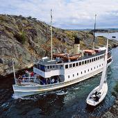 Skärgårdsbåt i Bohuslän