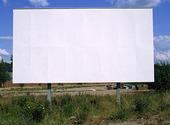 Tom reklamtavla