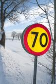 70-skylt