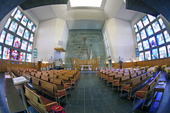 Interiör Sankt Botvids kyrka i Oxelösund, Södermanland