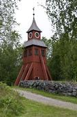 Långshyttans kyrkogård i Dalarna