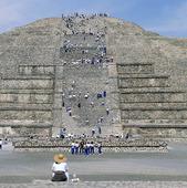 Månpyramiden, Mexico