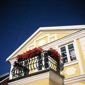 Balkong på villa