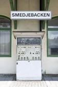 Smedjebackens järnvägsstation, Dalarna