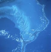 Satellitbild över Bahamas
