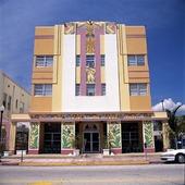 Art déco hus i Miami, USA