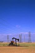Oljekälla i Kalifornien, USA
