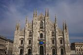 Katedralen i Milano, Italien