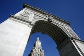 Washington Square Arch i New York, USA