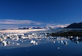 Glaciers in Iceland