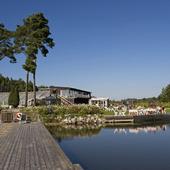 Hornuddens trädgård vid Strängnäs, Södermanland