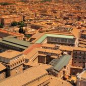 Vy över Rom, Italien