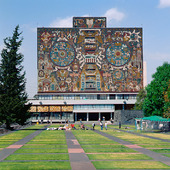 Universitetsbiblioteket, Mexico City