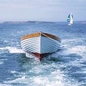 Roddbåt på släp