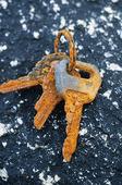 Rostiga nycklar