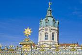 Bild på slottet Charlottenburg i Berlin