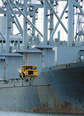 Fartyg i hamn