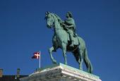 Staty Fredrik 5:e i Köpenhamn, Danmark