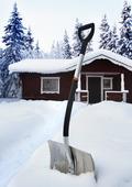 Snöskyffel
