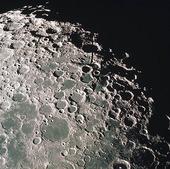 Satellitbild på månen
