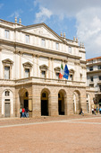Operahuset La Scala i Milano, Italien