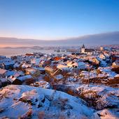Skärhamn - vinter, Bohuslän