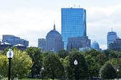 Boston Common. Park i Boston, USA