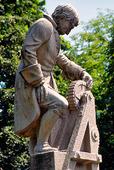 Statyn Christopher Polhem, Göteborg