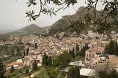 Taormina på Sicilien, Italien