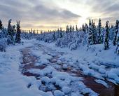 Vinterlandskap, Norge
