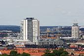 Skattekrapan och Söder torn i Stockholm