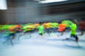 Motionstävling för löpare