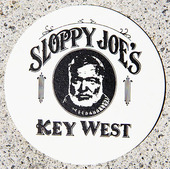 Glasunderlägg från Sloppy Joe´s i Key