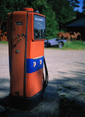 Äldre bensinpump