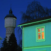 Vattentorn i Skara, Västergötland