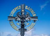 Minnesmärke Zugspitzbhan, Österrike