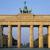 Brandenburger Tor i Berlin, Tyskland