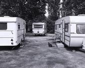Husvagnar på campingplats