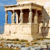 Erechtheion Temple, Athens, Greece