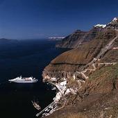 Santorini i Grekland