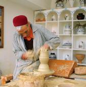 Krukmakare, Tunisien