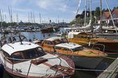 Veteranbåtar i Vasahamnen, Stockholm
