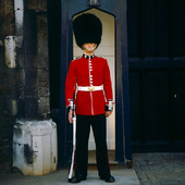 Vakt i London, Storbritannien
