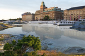 Nybroviken i Stockholm (montage)
