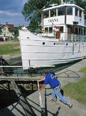 Sluss i Göta Kanal