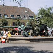 Stora torg i Halmstad, Halland