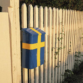 Svensk postlåda