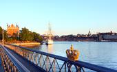 Guldkrona på Skeppsholmsbron, Stockholm